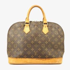 Auth Louis Vuitton Alma Handbag #1974L14